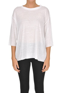 Cotton and linen t-shirt Iro