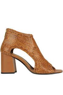 Woven leather sandals Yosh Collection