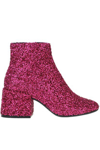 Glittered leather ankle-boots MM6 by Maison Martin Margiela