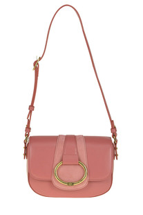 Eco-leather shoulder bag Elisabetta Franchi