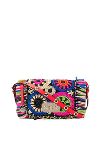 Rednat rafia shoulder bag RED Valentino