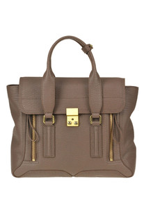 'Pashli medium' grainy leather satchel bag 3.1 Phillip Lim