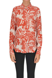 Printed silk blouse Aspesi