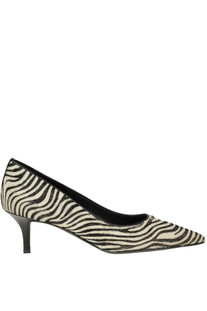 Animal print haircalf pumps Marc Ellis
