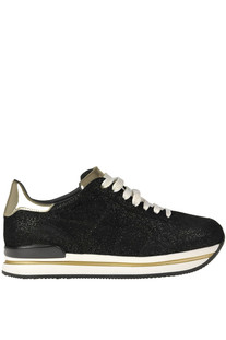 H222 glittered sneakers Hogan
