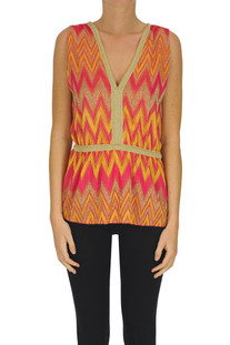 Lurex knit top M Missoni