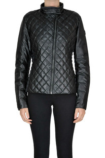 Quilted eco-leather jacket Save the Duck