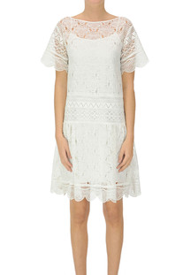 Macramè lace dress Alberta Ferretti