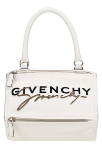 Pandora Small bag with velvet designer logo Givenchy