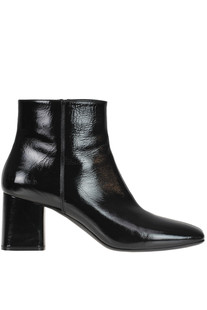 Patent-leather ankle boots Casadei