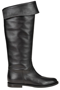 High leg leather boots Yosh Collection