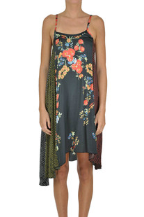 Printed viscose dress Jucca