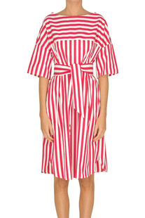 Striped cotton dress Aspesi