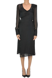 Silk wrap dress Federica Tosi