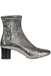 Datsy metallic effect leather ankle-boots Isabel Marant