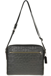 Quilted leather shoulder back Coach