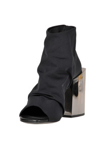 Techno fabric open-toe ankle boots Vic Matiè