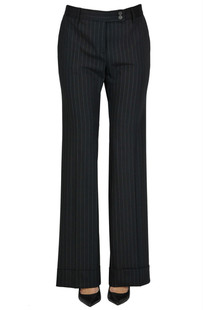 Pinstriped trousers True Royal