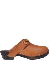 Leather clogs Céline