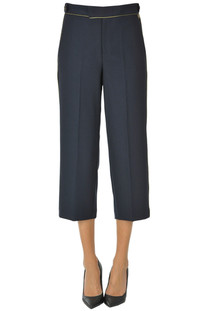 Cropped trousers Twinset Milano
