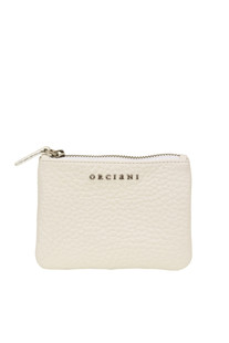 Leather mini pouch Orciani