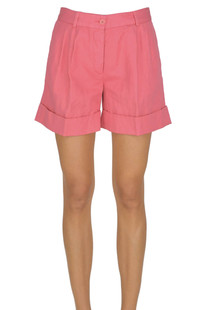 Cotton and linen shorts Aspesi