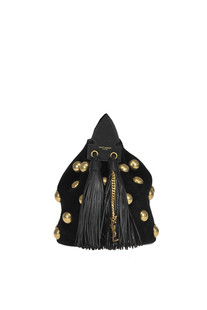 Anja Small suede bucket bag Saint Laurent
