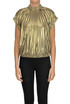 Pleated metallic effect top Dries Van Noten