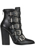 Studded leather ankle-boots Steve Madden