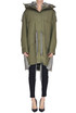 Eco-fur inserts parka coat Stella McCartney