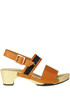Alma leather clogs Rosa Mosa
