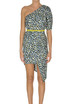 One shouderl sheath dress Elisabetta Franchi