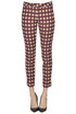 Checked print trousers Alysi