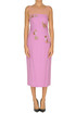 Jewel applications sheath dress Dries Van Noten