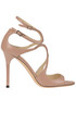 'Lang' leather sandals Jimmy Choo