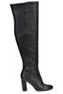 Leather over the knee boots Michael Michael Kors