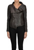 Leather biker jacket Robert Le Blank