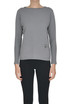Wool, silk and cashmere knit pullover Fabiana Filippi