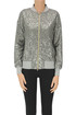 Sequined bomber jacket Herno