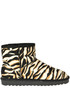 Animal print eco-haircalf ankle boots Colors of California