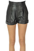 Eco-leather shorts  PHILOSOPHY di Lorenzo Serafini