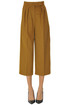 Peplo cropped camel wool trousers Max Mara