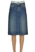 Denim skirt Maison Margiela
