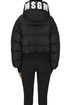 Cropped quilted down jacket MSGM