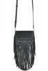 'Cary' fringed suede crossbody bag Michael Michael Kors
