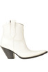 Leather texan boots Maison Margiela