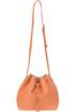 Leather bucket bag Lancaster