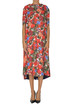 Oversized flower print dress Marni