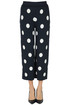 Polka dot cropped trousers Z.O.E.