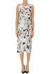 Flower print sheat dress Joseph Ribkoff